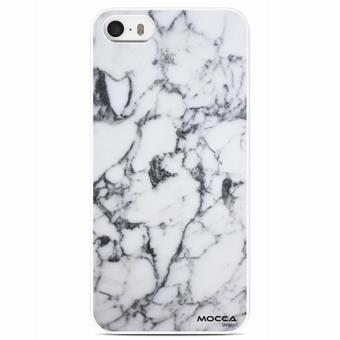 Coque Iphone 5/5S Motif Marbre Blanc