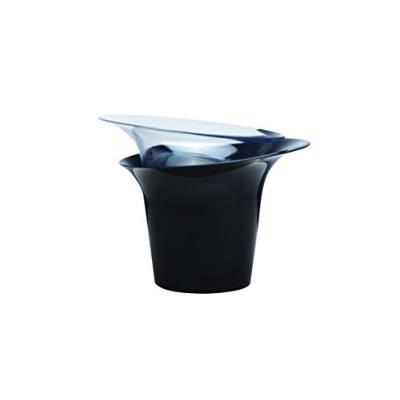 Hobby Flower Adel Pot De Fleurs Rond Pour Les Orchidées Et Leur Arrosage 20 X 20 Cm Noir