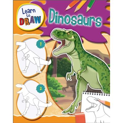 Dinosaurs (Learn To Draw) (Hardcover)