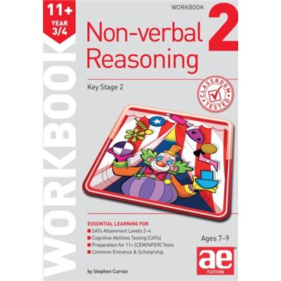 11+ Non-Verbal Reasoning Year 3/4 Workbook 2: Including Multiple Choice Test Technique (Paperback)