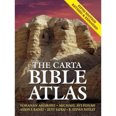 The Carta Bible Atlas - [Version Originale]