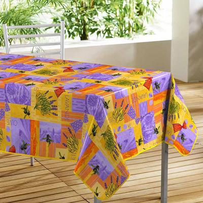 Nappe Imprimé Senteur Orange 140 x 240 cm