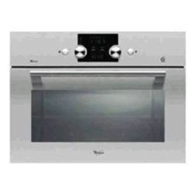 Whirlpool Premium AMW 545 - four micro-ondes grill - intégrable - inox