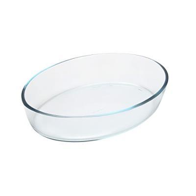 Pyrex 1040752 plat à four en verre ovale 25 x 17 cm