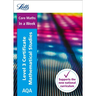 Core Maths In A Week Aqa Cert