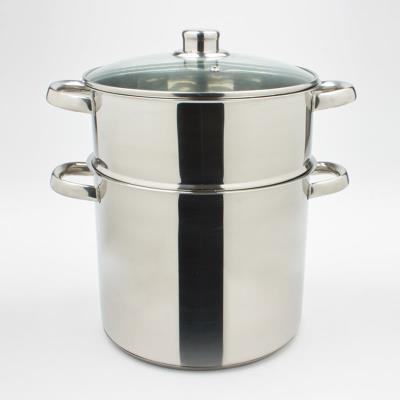 HORA - Couscoussier 26 cm 11 L inox induction