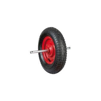 roue gonflable 380mm pour brouette avec axe. Black Bedroom Furniture Sets. Home Design Ideas
