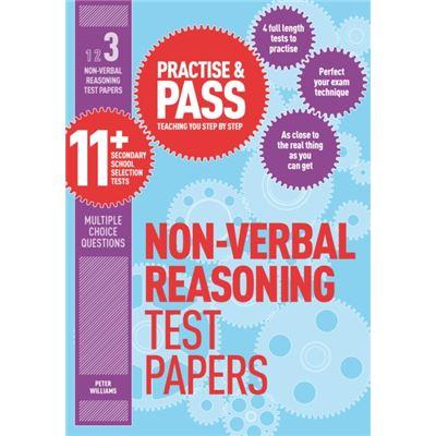 Non Verbal Reasoning Practice Test Paper