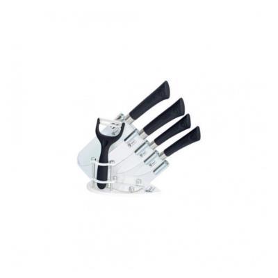Set de couteaux revetement céramique noir