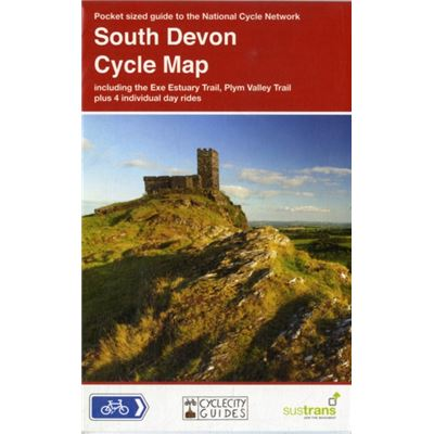South Devon Cycle Map: Including The Exe Estuary Trail, Plym Valley Trail, Plus 4 Individual Day Rides (Cyclecity Guides) (Map)