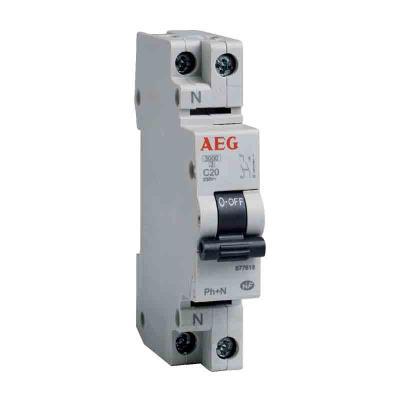 AEG - Disjoncteur phase+neutre - 16A
