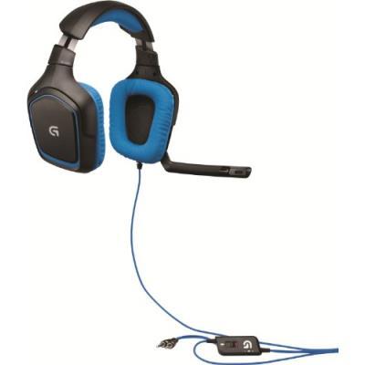 ec82bf0ff0e Logitech G430 Micro-Casque Gaming compatible PC et PS4 Noir - Casque PC -  Achat & prix | fnac