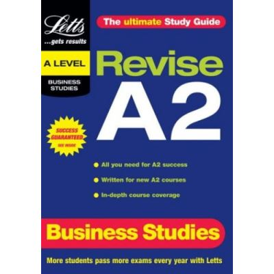 Revise A2: Business Studies