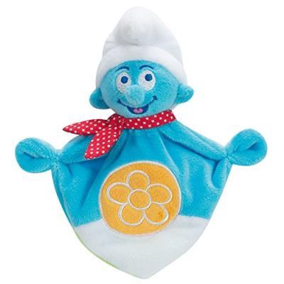 Doudou schtroumpfhauteur : 18 cmpeluche lavable à 30 gradenbelle qualitenorme cedes la naissancecouper les attaches en plastique avant de donner le produit à l'enfant.