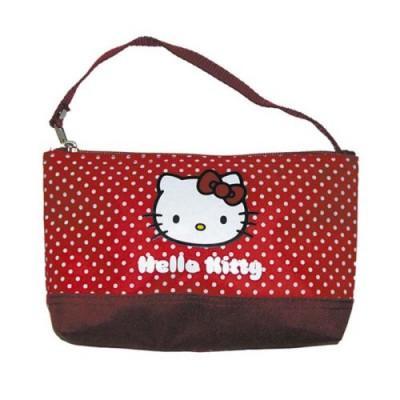 MT Créations - Pochette trousse - Hello Kitty : Rouge