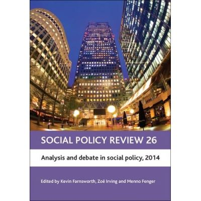 Social Policy Review 2014: Analysis and Debate in Social Policy, 2014 - [Livre en VO]