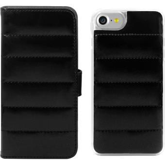coque iphone 7 clapet noir