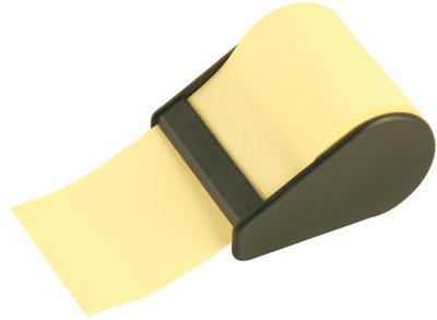 Majuscule - Rouleau Note Repositionnable 60mmx10m Jaune Pastel