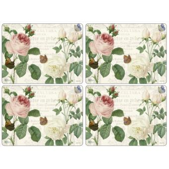 4 Sets de table rigides RHS Roses - Pimpernel - Achat & prix | fnac