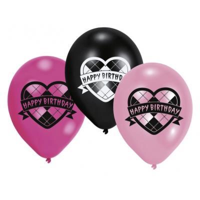Ballons Anniversaire Monster High (x6) - Décoration