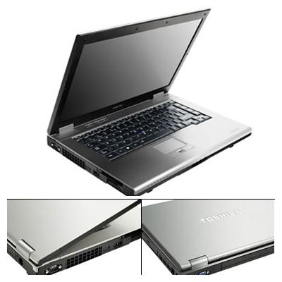 Notebook TOSHIBA Tecra A10 11T - Core 2 Duo 1,8 Ghz - 160 GB - Windows Vista - Graveur DVD