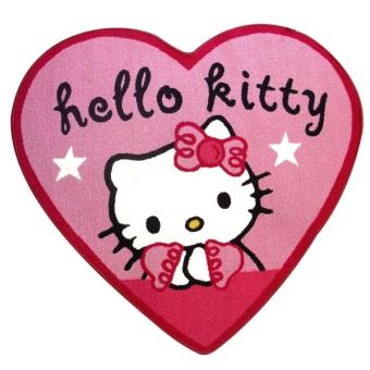 Tapis De Sol Forme Coeur   Hello Kitty   Décoration De Chambre !   Tapis  Enfant   Achat U0026 Prix | Fnac