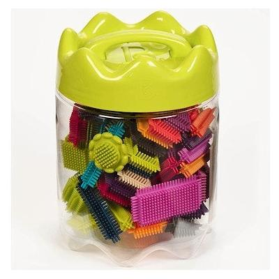 JOUETS B - BX1175Z - JEU DE CONSTRUCTION - BRISTLE BLOCK IN JAR
