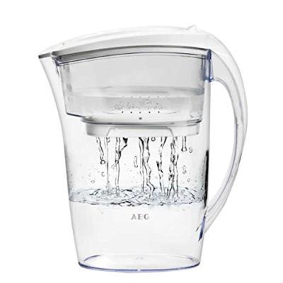 Aeg-aquasense pure awfljp1 pour carafe filtrante d'eau filtrée 1,6 l, blanc ice
