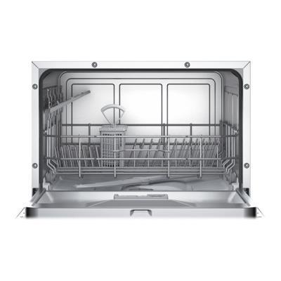 Siemens iQ300 SK26E821EU - Lave-vaisselle - pose libre - largeur : 55.1 cm - hauteur : 45 cm - Inox argent