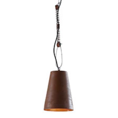Lampe Suspension Links, marron