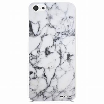 Coque Iphone 5C Motif Marbre Blanc