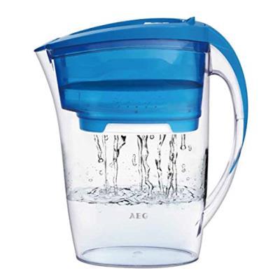 Aeg-aquasense pure awfljp2 carafe filtrante d'eau filtrée 1,6 l (bleu aqua