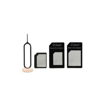 Carte Gsm Carrefour.Adaptateur Carte Sim Universel Pack Micro Sim Et Nano Sim Avec Extracteur