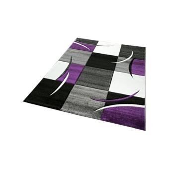 Tapis DIAMOND 665-950 violet 120x170 AMZ Tapis Moderne par Unamourdetapis  120 x 170 cm