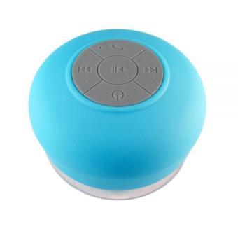 enceinte bluetooth ventouse bts 06 waterproof bleu enceinte pc achat prix fnac. Black Bedroom Furniture Sets. Home Design Ideas