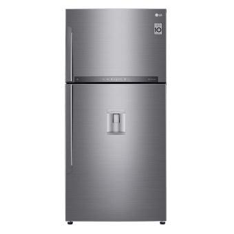 refrigerateur congelateur en haut lg gtf8659ps achat. Black Bedroom Furniture Sets. Home Design Ideas