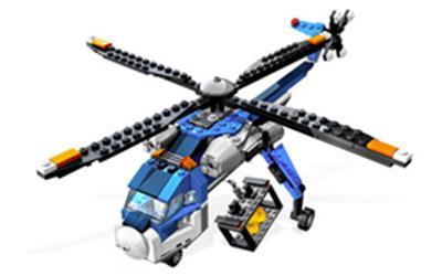 4995 L' helicoptère cargo, Lego Creator