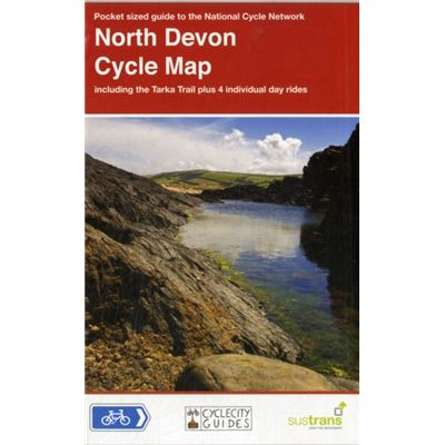 North Devon Cycle Map: Including The Tarka Trail Plus 4 Individual Day Rides (Cyclecity Guides) (Map)