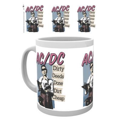 Tasse de ceramique AC/DC Dirty Deeds