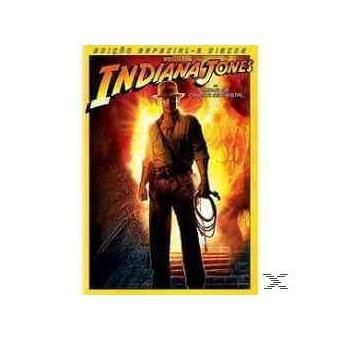 Indiana Jones e o Reino da Caveira de Cristal - Edição Especial - DVD