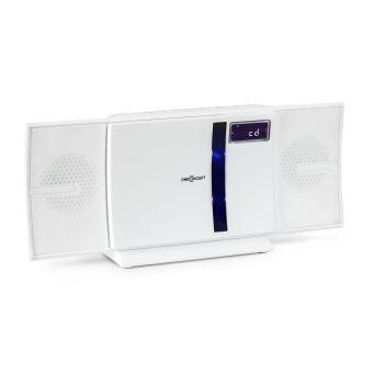 90 sur oneconcept v 16 bt cha ne hifi bluetooth verticale avec lecteur cd usb mp3 radio fm. Black Bedroom Furniture Sets. Home Design Ideas