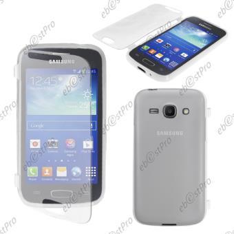 ebestStar ® pour Samsung Galaxy Ace 3 GT-S7270, S7272, S7275 - Housse Etui Coque Portefeuille Livre Silicone Gel Film protection d'écran, Couleur ...