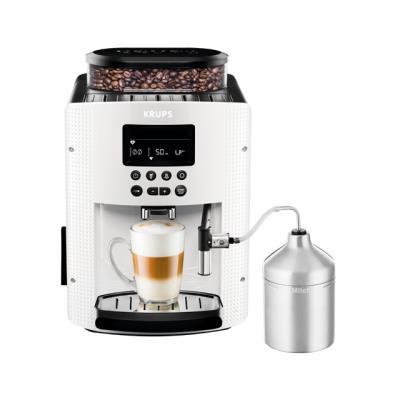 Krups machine à café (1,8 litre, 15 bar-écran lc-autocappuccino system) blanc