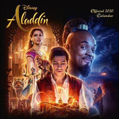 Aladdin Disney Calendrier 2020 carré 30 x 30 cm