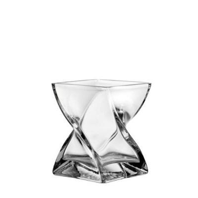 Leonardo 014108 Photophore / Vase 17 x 14 x 14 cm Swirl