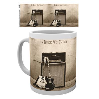 Tasse de ceramique AC/DC Trust Rock