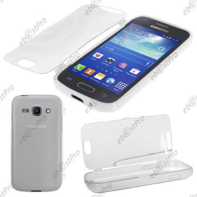 ebestStar ® Coque Portefeuille à Rabat Housse Etui Livre Silicone Gel Film protection d'écran pour Samsung Galaxy Ace 3 GT-S7270, S7272, S7275, ...