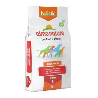 Almo Nature Chien Holistic Large Boeuf et riz 12 kg