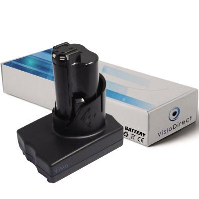 Batterie pour AEG Milwaukee 2454-22 clé à chocs 3/8 po 3000mAh 12V - Visiodirect -