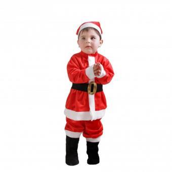 43b5219801fc7 Costume de Père Noël bébé - 18 mois - Déguisement enfant - Achat   prix